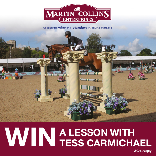 Win a Lesson with Tess Carmichael