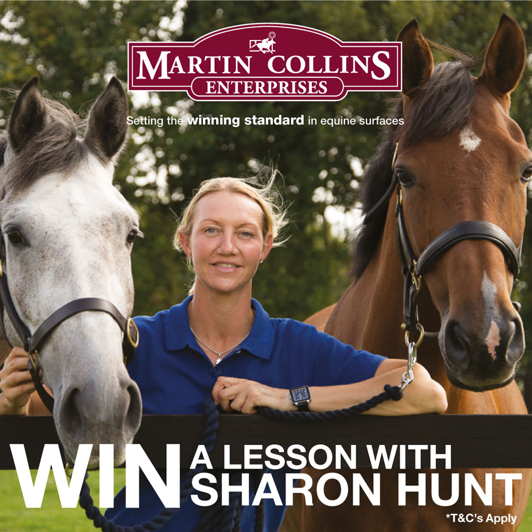 Win a Lesson with Sharon Hunt